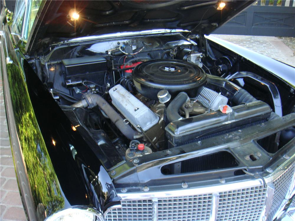 1956 LINCOLN CONTINENTAL MARK II 2 DOOR COUPE - Engine - 109837
