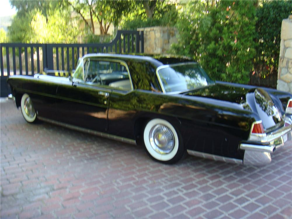 1956 LINCOLN CONTINENTAL MARK II 2 DOOR COUPE - Rear 3/4 - 109837