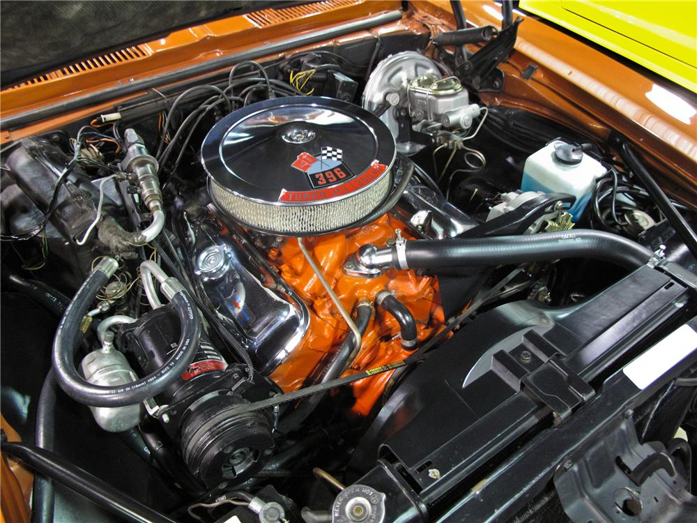 1968 CHEVROLET CAMARO 2 DOOR CUSTOM COUPE - Engine - 111273
