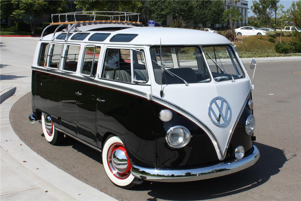 1963 Volkswagen 21 Window Custom Deluxe Bus 112578