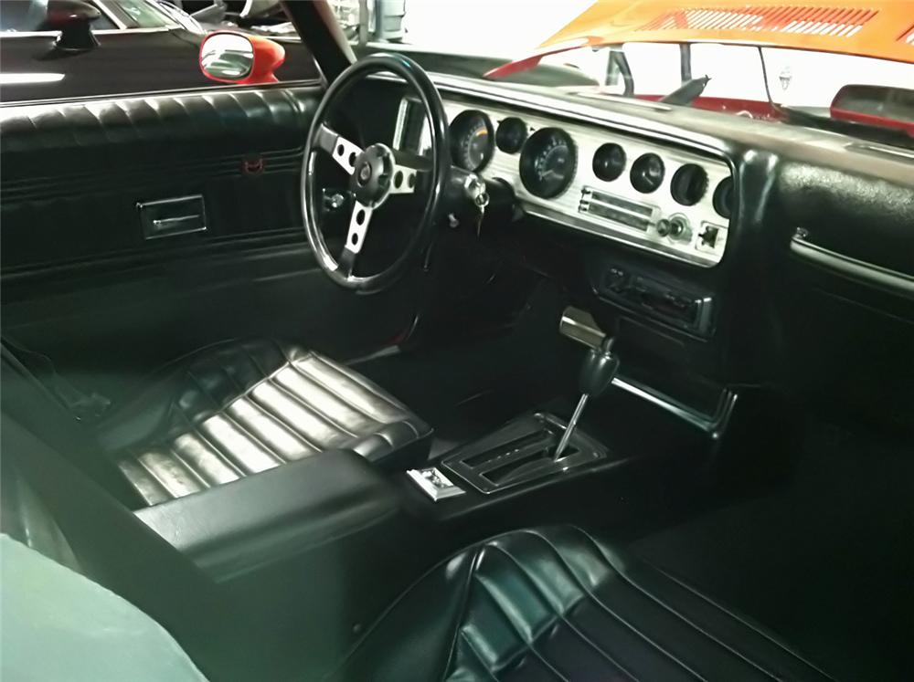 1974 PONTIAC TRANS AM 2 DOOR HARDTOP - Interior - 112585