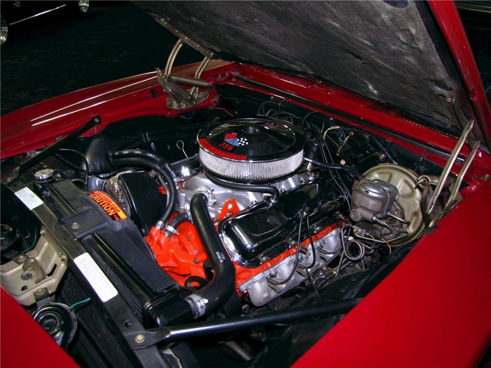 1969 CHEVROLET CAMARO CUSTOM CONVERTIBLE - Engine - 112590