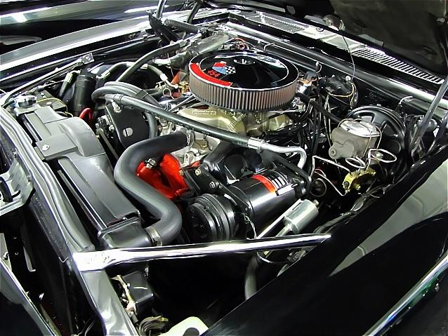1967 CHEVROLET CAMARO CUSTOM 2 DOOR COUPE - Engine - 112593