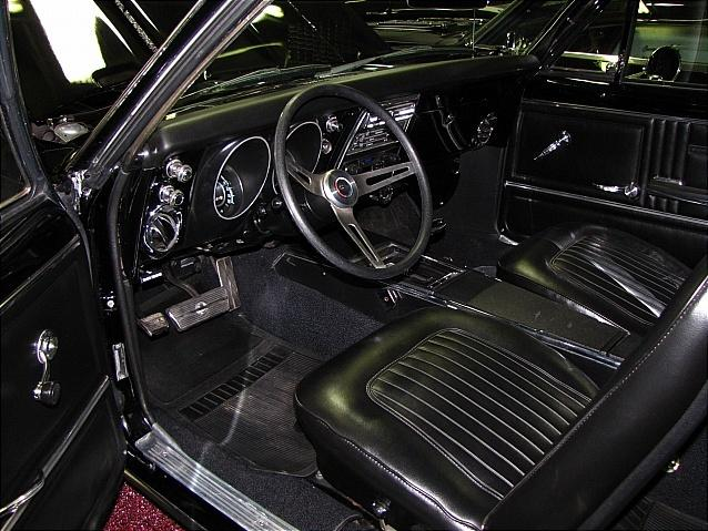 1967 CHEVROLET CAMARO CUSTOM 2 DOOR COUPE - Interior - 112593