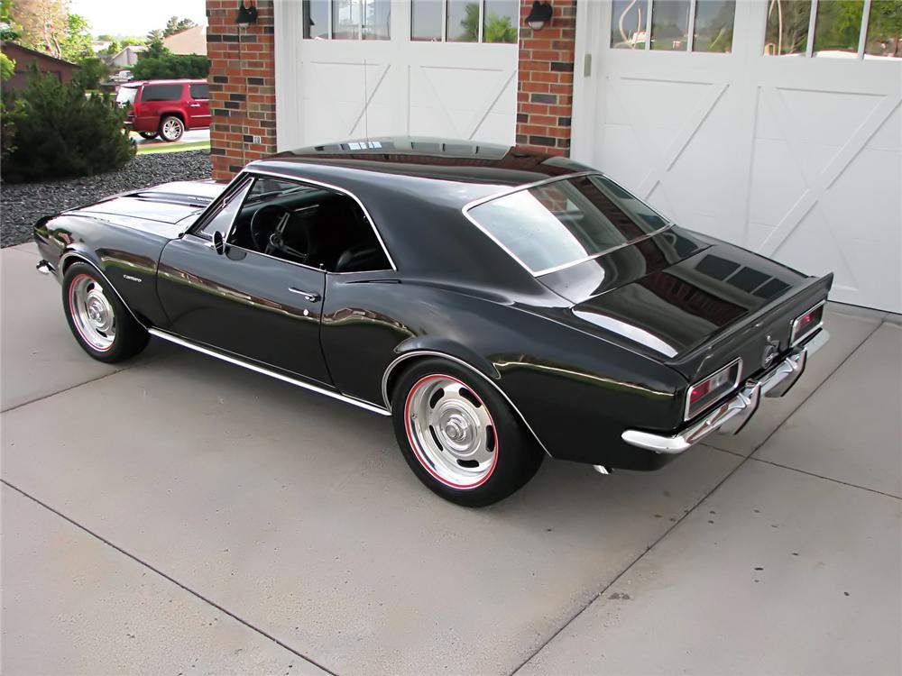 1967 CHEVROLET CAMARO CUSTOM 2 DOOR COUPE - Rear 3/4 - 112593