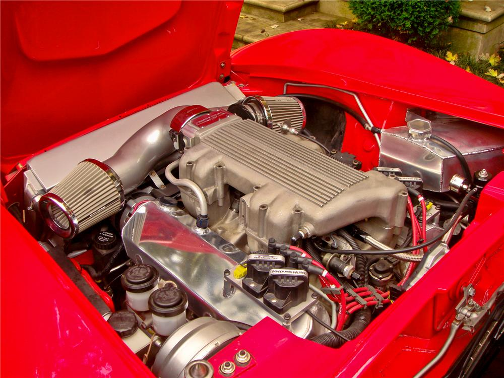 1968 CHEVROLET CORVETTE CUSTOM CONVERTIBLE - Engine - 112596