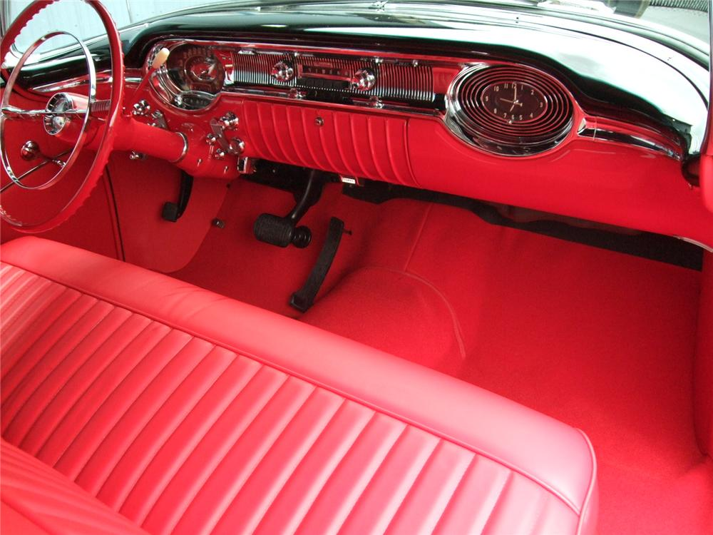 1956 OLDSMOBILE SUPER 88 CONVERTIBLE - Interior - 112605
