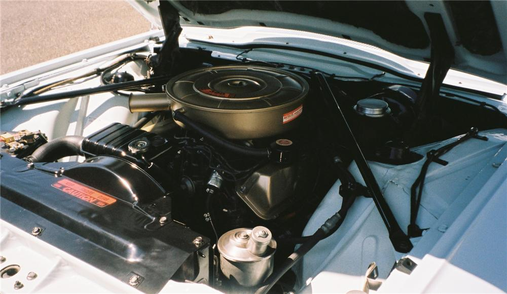 1965 FORD THUNDERBIRD 2 DOOR CONVERTIBLE - Engine - 112607