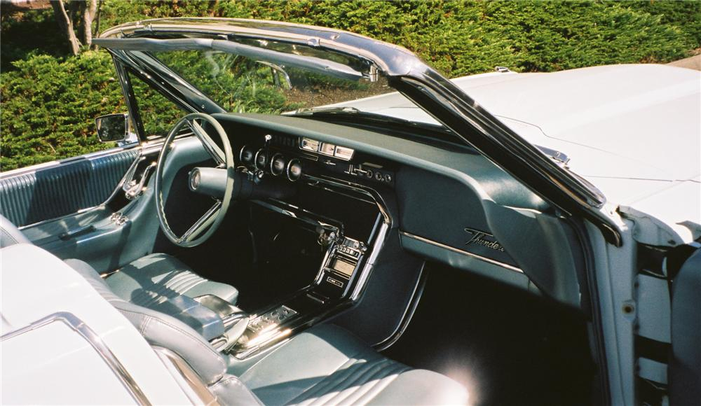 1965 FORD THUNDERBIRD 2 DOOR CONVERTIBLE - Interior - 112607