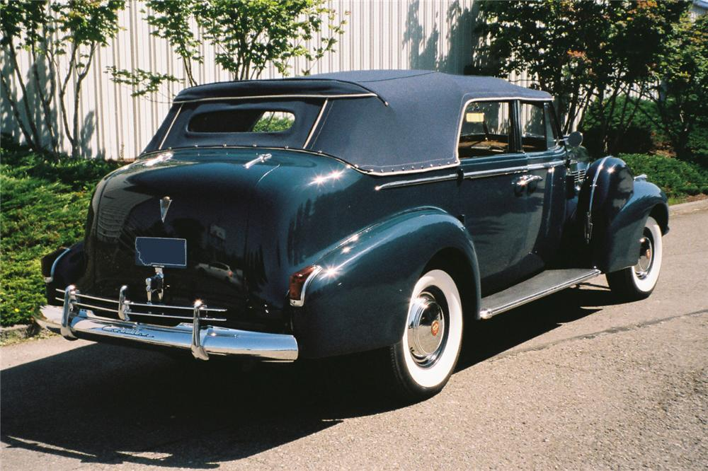 1940 cadillac series 75 4 door convertible 112609. Black Bedroom Furniture Sets. Home Design Ideas