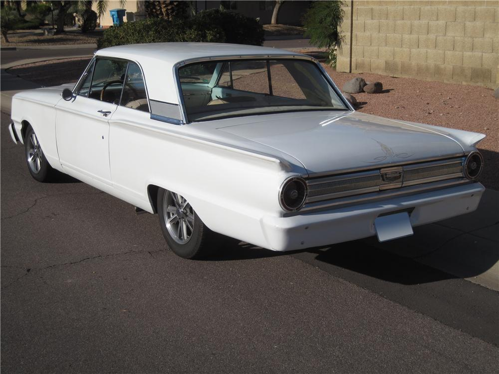 1963 FORD FAIRLANE 500 CUSTOM 2 DOOR SPORT COUPE - Rear 3/4 - 112613