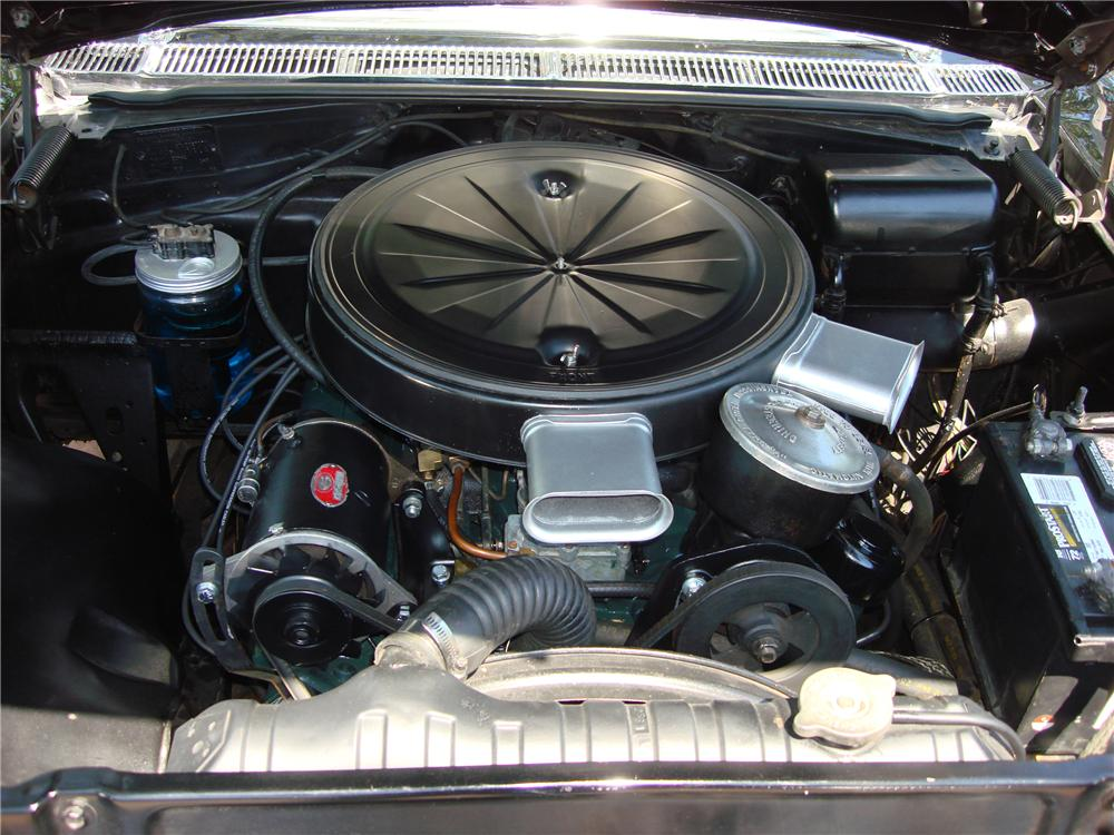 1957 PONTIAC STAR CHIEF CONVERTIBLE - Engine - 112623