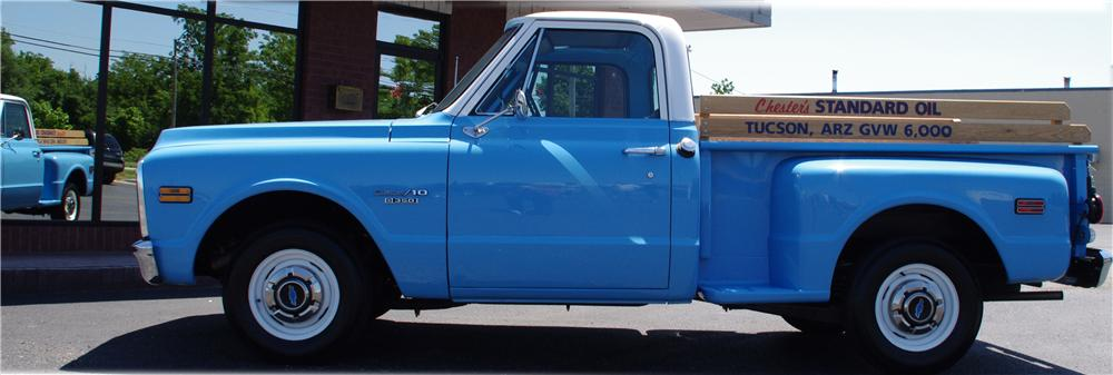 1969 CHEVROLET C-10 PICKUP - Side Profile - 112632