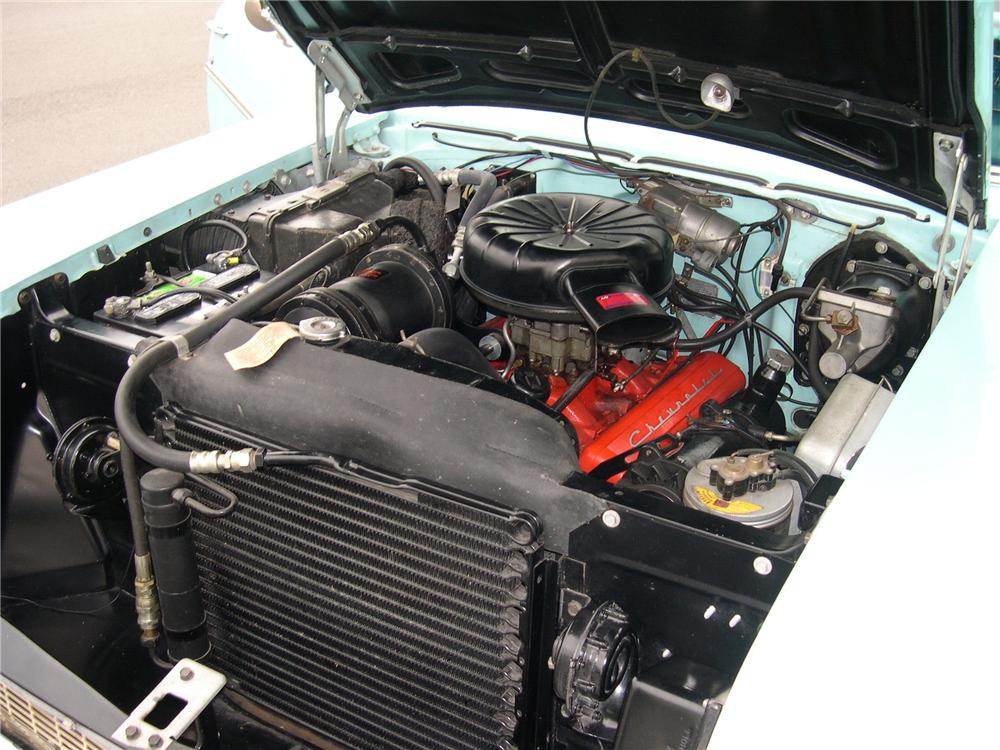 1957 CHEVROLET BEL AIR CONVERTIBLE - Engine - 112642