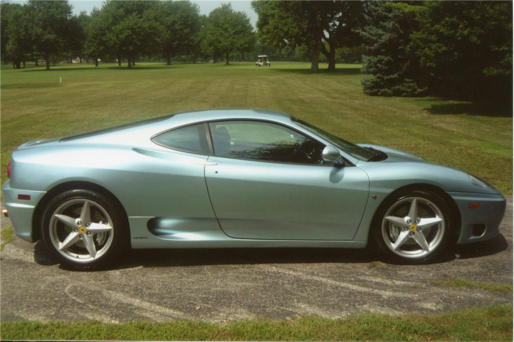 1999 FERRARI 360 MODENA 2 DOOR COUPE - Side Profile - 112646