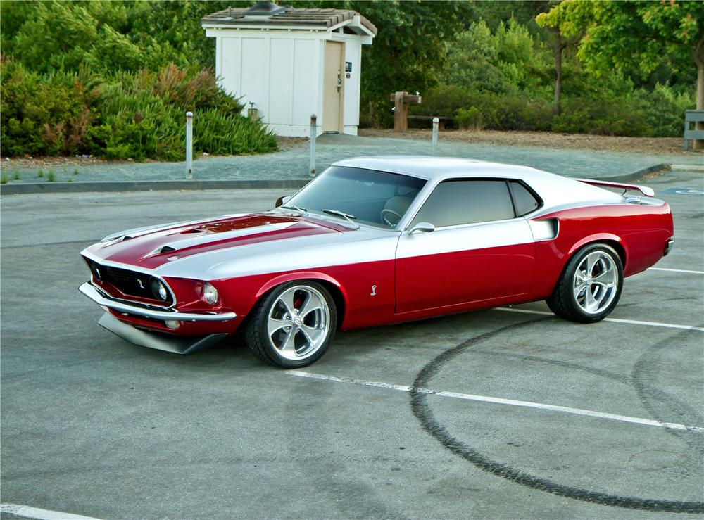 1969 ford mustang custom fastback 112653. Black Bedroom Furniture Sets. Home Design Ideas
