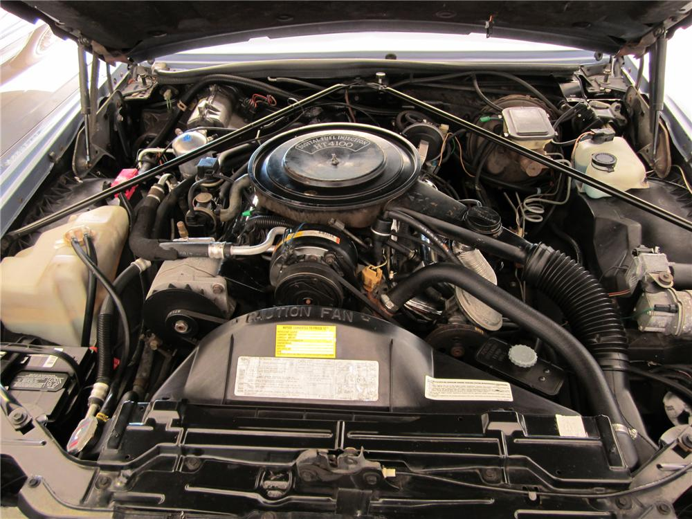 1983 CADILLAC ELDORADO 2 DOOR COUPE - Engine - 112656