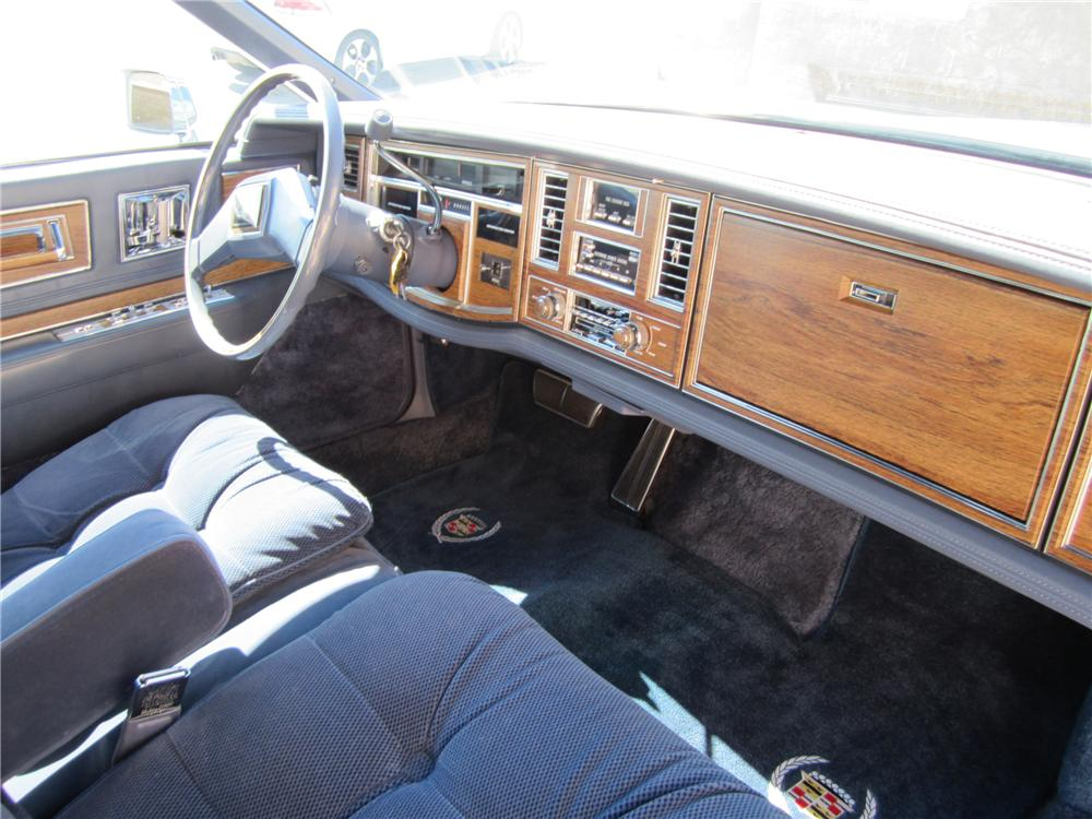 1983 CADILLAC ELDORADO 2 DOOR COUPE - Interior - 112656