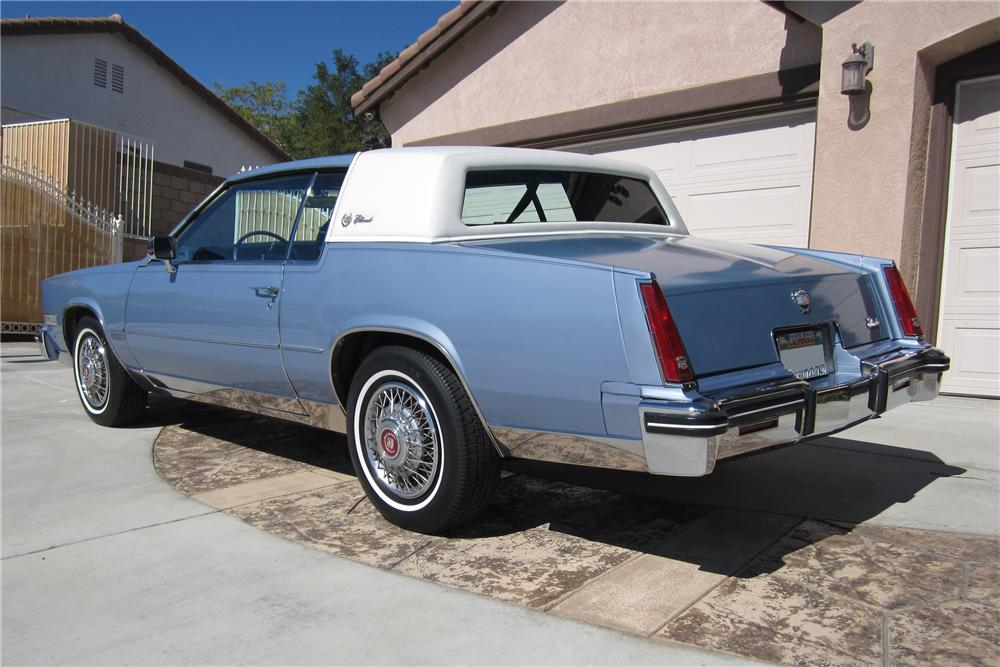 1983 CADILLAC ELDORADO 2 DOOR COUPE - Rear 3/4 - 112656