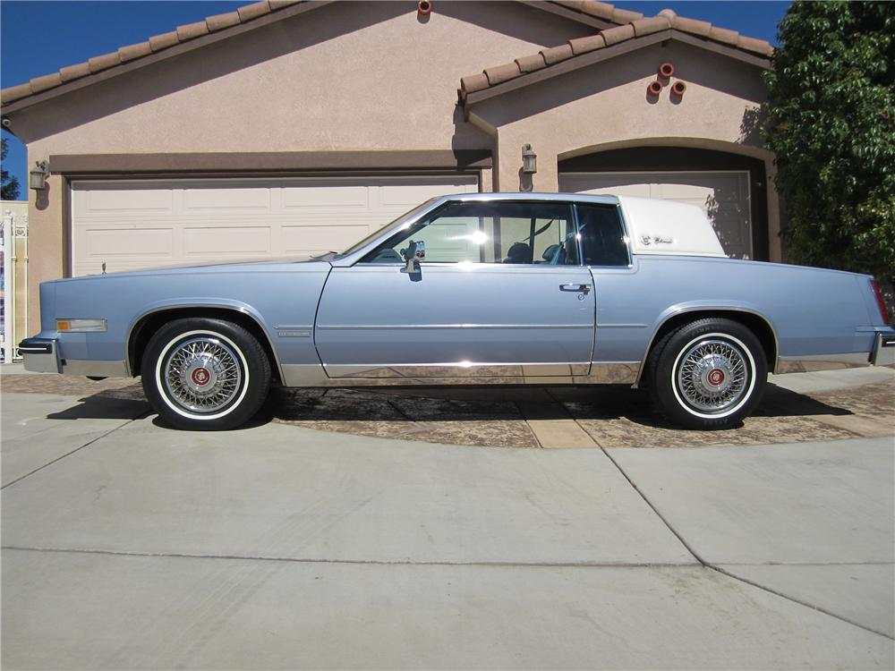 1983 CADILLAC ELDORADO 2 DOOR COUPE - Side Profile - 112656