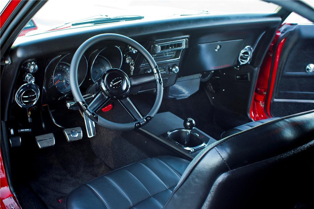 Image Gallery 68 Firebird Interior