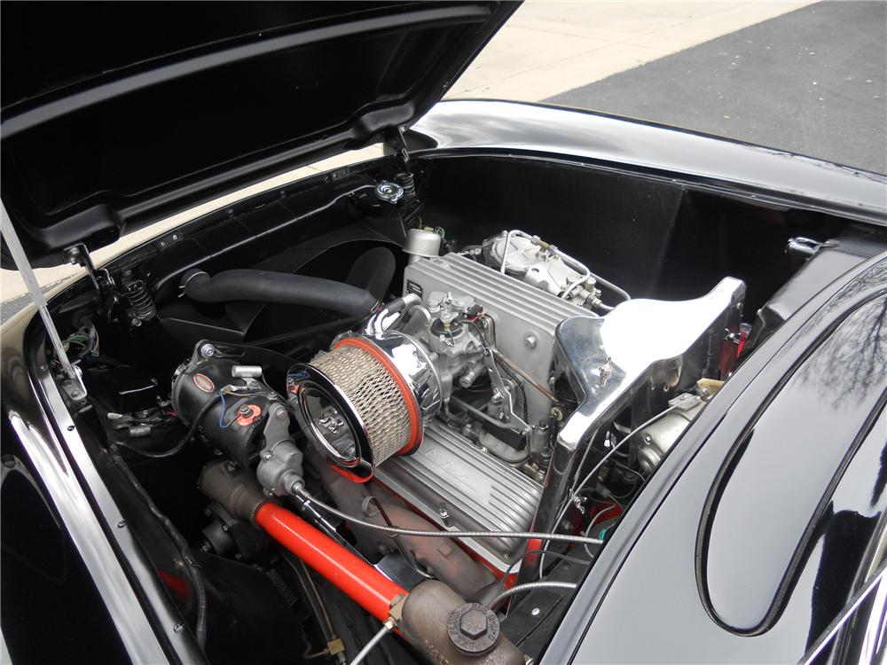 1957 CHEVROLET CORVETTE CONVERTIBLE - Engine - 112664