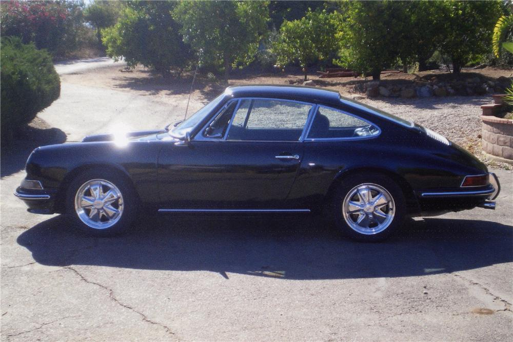 1967 PORSCHE 912 CUSTOM 2 DOOR COUPE - Side Profile - 112666