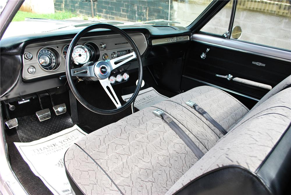 1965 CHEVROLET EL CAMINO SS CUSTOM PICKUP - Interior - 112673