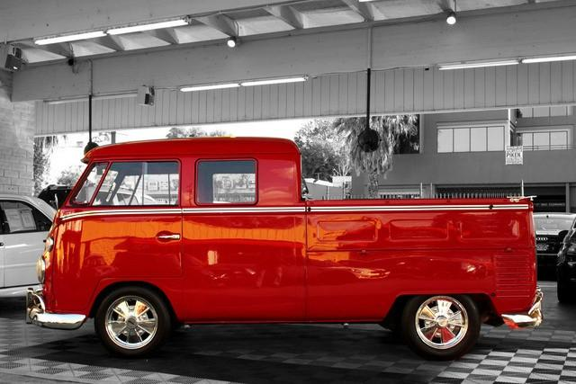1964 VOLKSWAGEN DOUBLE CAB PICKUP - Side Profile - 112675