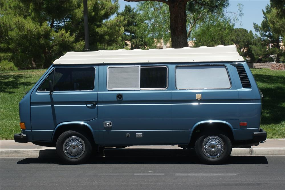 1985 VOLKSWAGEN VANAGON CAMPER - Side Profile - 112683