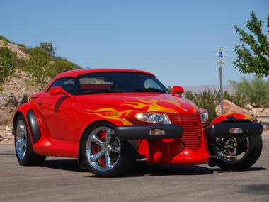 1999 PLYMOUTH PROWLER CUSTOM ROADSTER - Front 3/4 - 112698