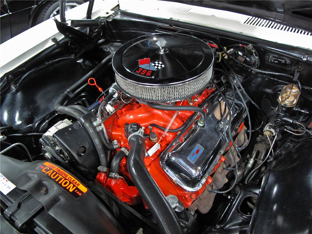 1967 CHEVROLET CAMARO CUSTOM COUPE - Engine - 112702
