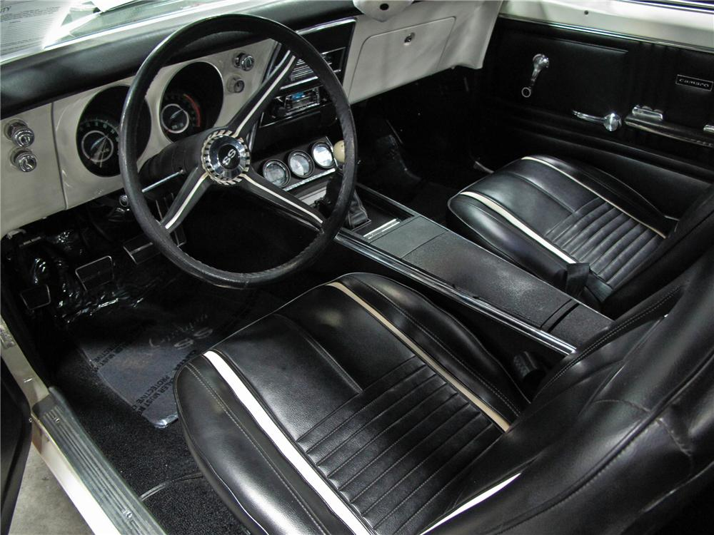 1967 CHEVROLET CAMARO CUSTOM COUPE - Interior - 112702