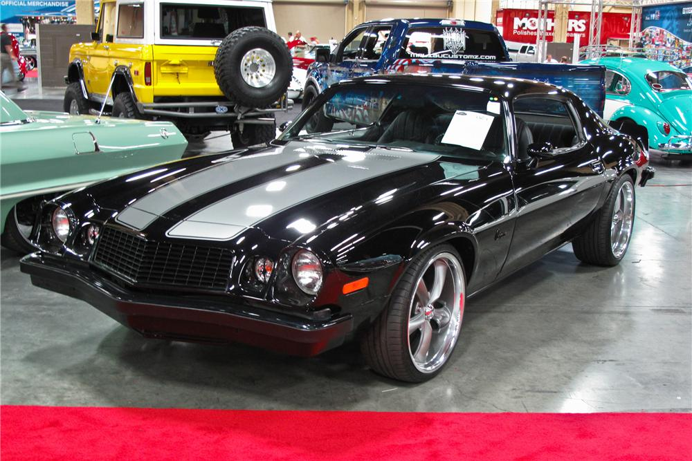 1974 CHEVROLET CAMARO CUSTOM COUPE - Front 3/4 - 112704