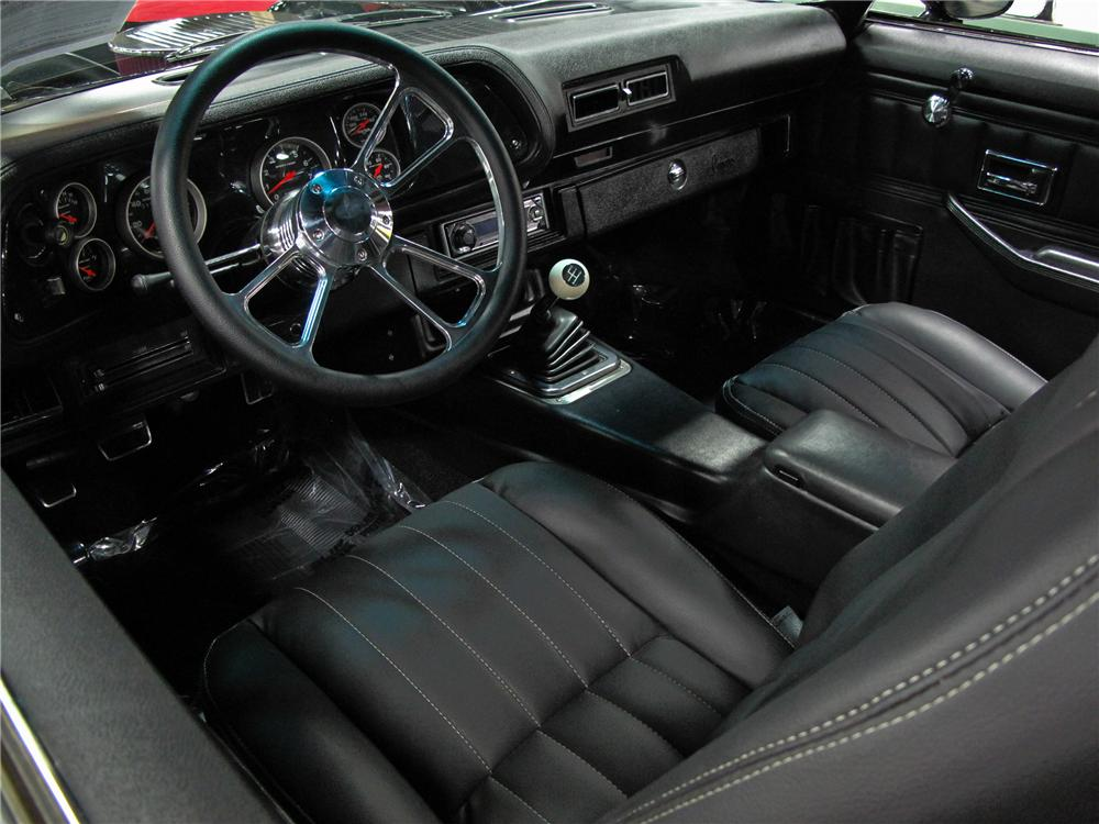 1974 CHEVROLET CAMARO CUSTOM COUPE - Interior - 112704