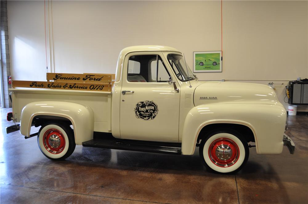 1953 FORD F-100 PICKUP - Side Profile - 112705
