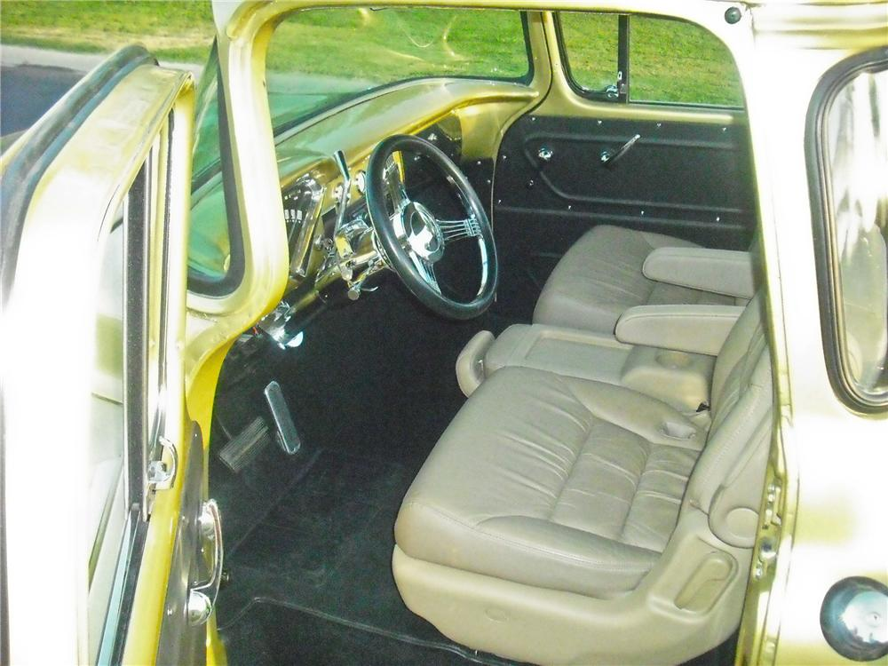 1959 CHEVROLET APACHE CUSTOM PICKUP - Interior - 112707