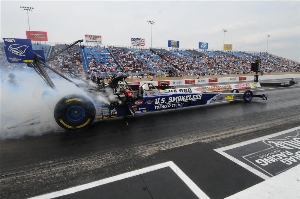 2009 US SMOKELESS TOP FUEL DRAGSTER NHRA - Side Profile - 112714