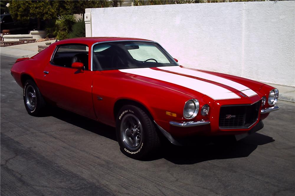 1971 CHEVROLET CAMARO Z/28 RS COUPE - Front 3/4 - 112716