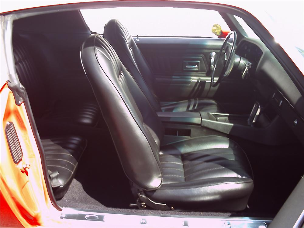 1971 CHEVROLET CAMARO Z/28 RS COUPE - Interior - 112716