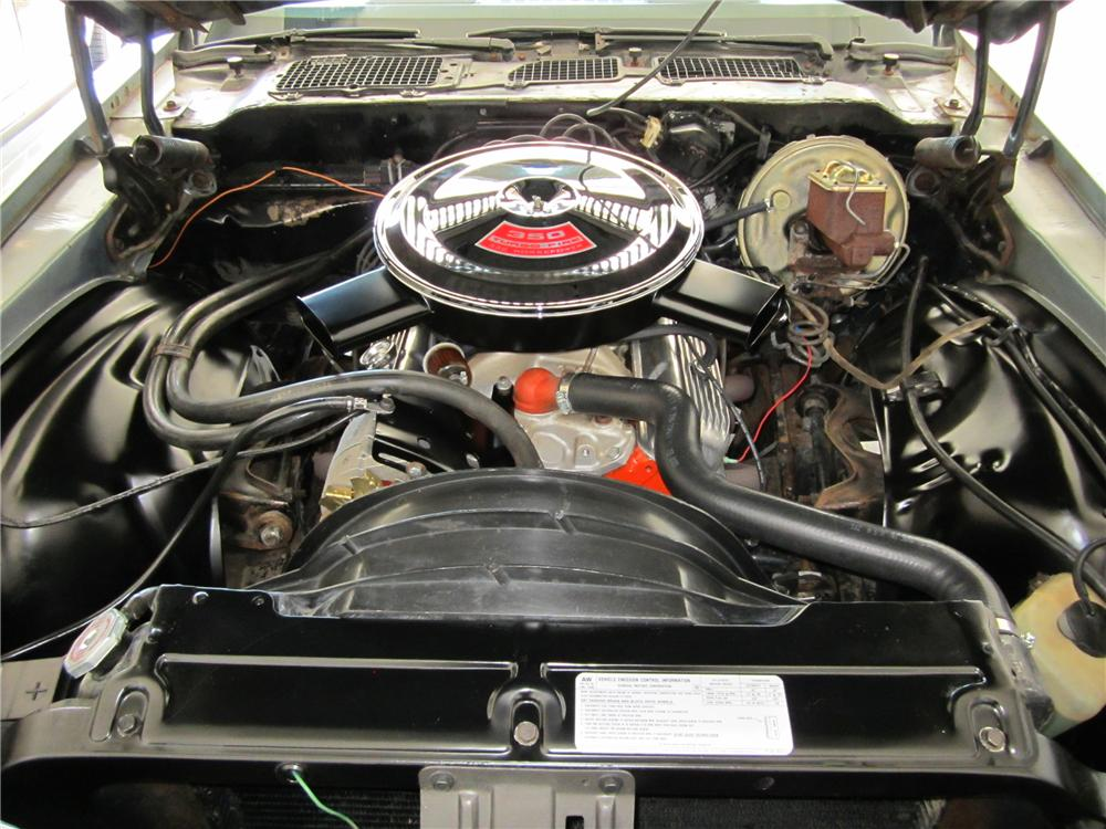1971 CHEVROLET CAMARO Z/28 COUPE - Engine - 112719