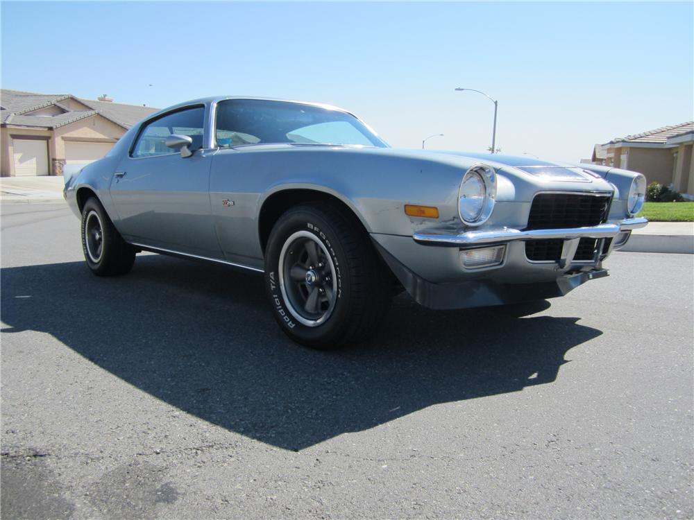 1971 CHEVROLET CAMARO Z/28 COUPE - Front 3/4 - 112719