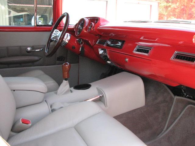 1957 CHEVROLET BEL AIR CUSTOM 2 DOOR COUPE - Interior - 112722
