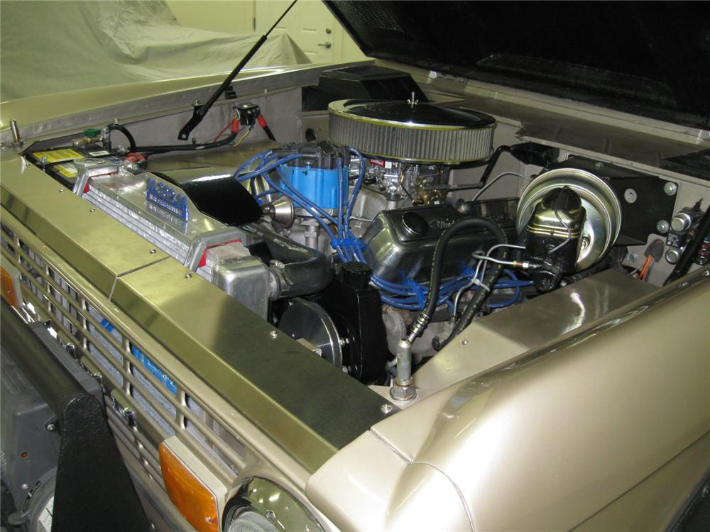 1974 FORD BRONCO CUSTOM 4X4 SUV - Engine - 112726