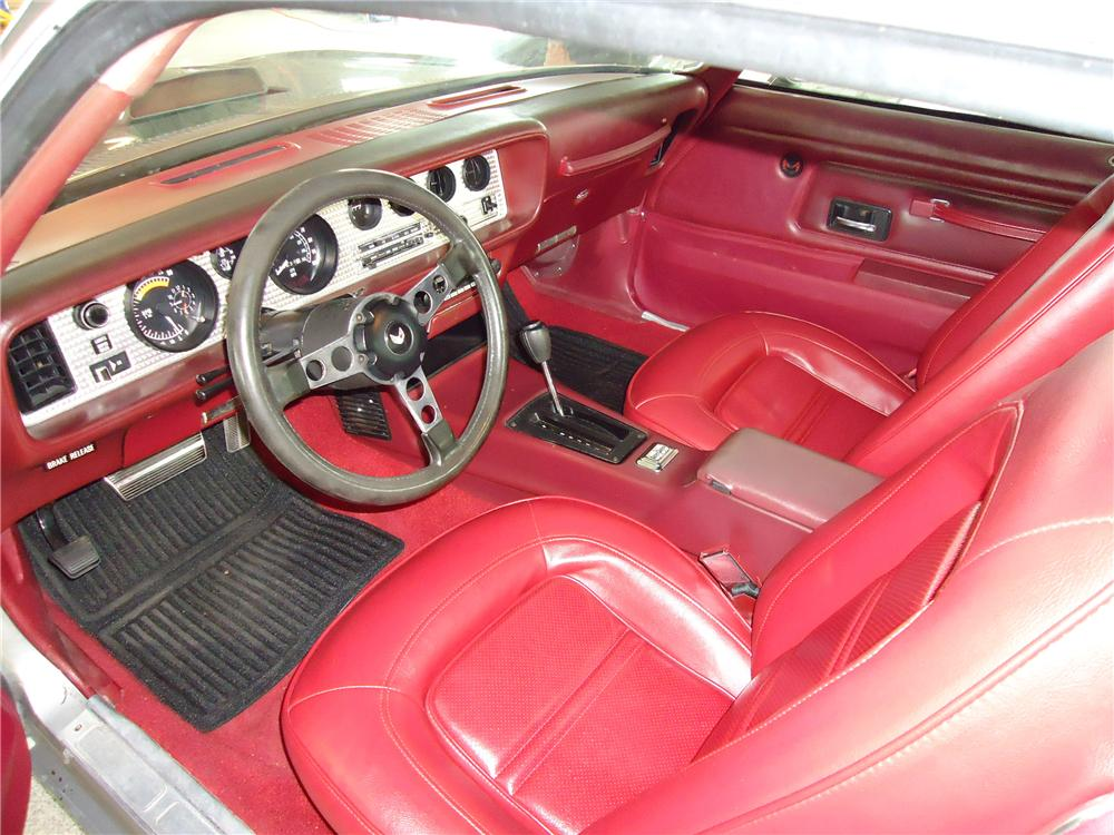 1975 PONTIAC FIREBIRD TRANS AM 2 DOOR COUPE - Interior - 112730