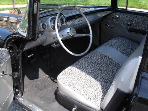 1957 CHEVROLET 150 BLACK WIDOW RE-CREATION - Interior - 112731