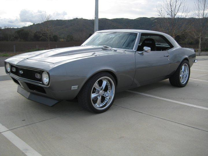 1968 CHEVROLET CAMARO CUSTOM COUPE - Front 3/4 - 112736