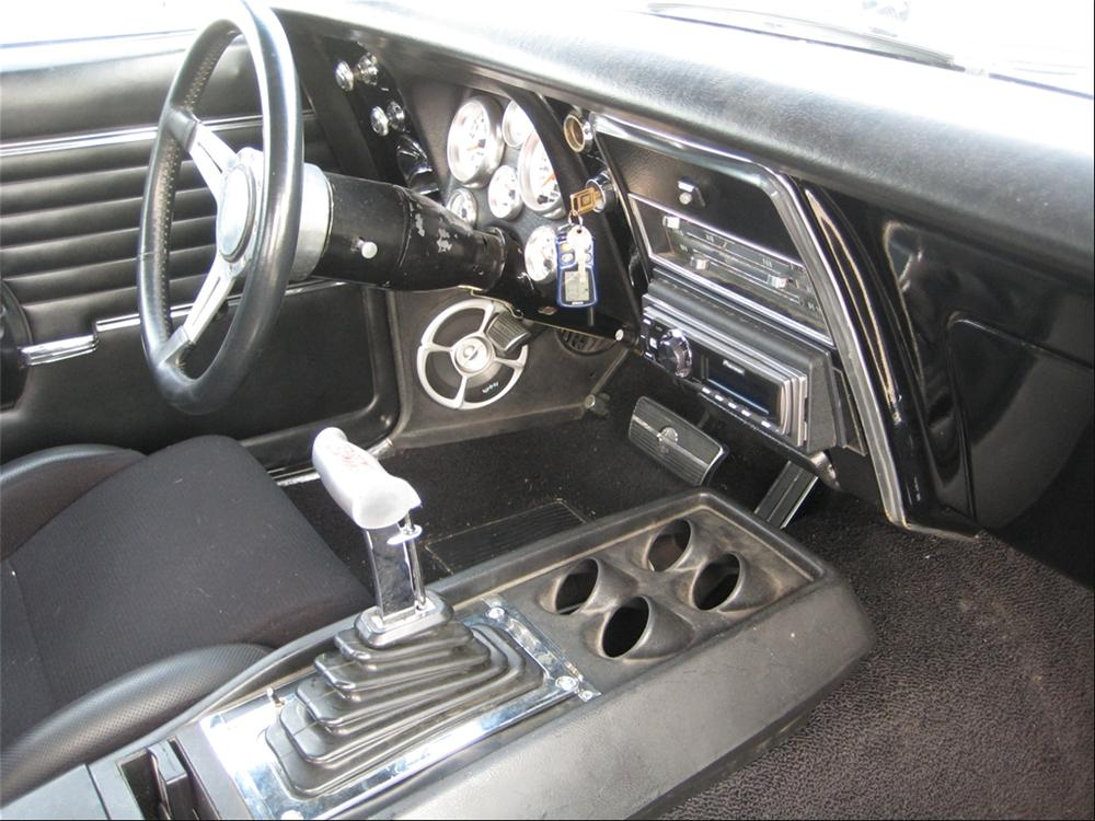 1968 CHEVROLET CAMARO CUSTOM COUPE - Interior - 112736