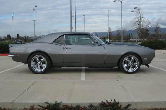 1968 CHEVROLET CAMARO CUSTOM COUPE - Side Profile - 112736
