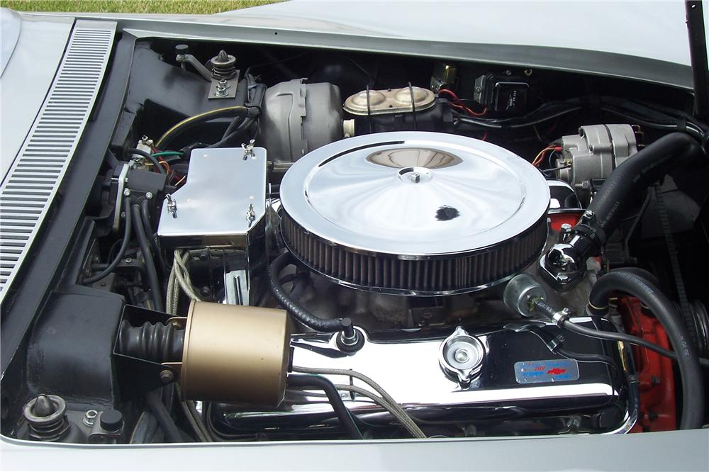 1968 CHEVROLET CORVETTE CONVERTIBLE - Engine - 112741